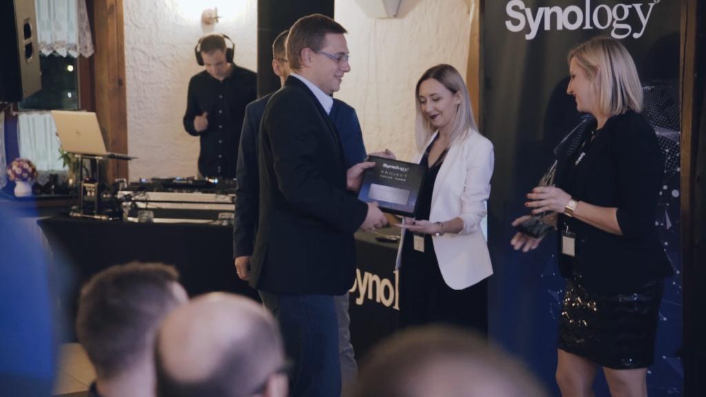 Synology Media Event 2018-nagroda dla AT Computers