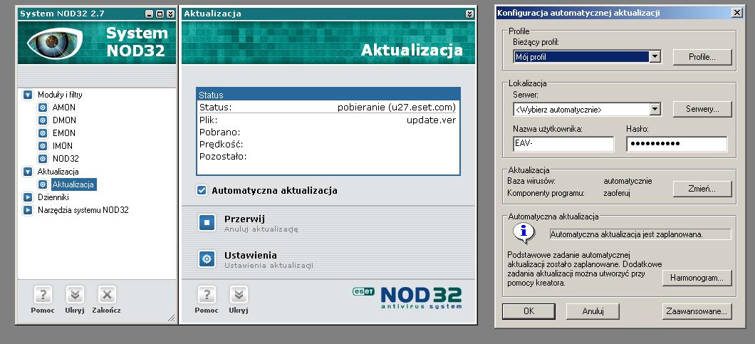 Wersja 2.7 NOD32